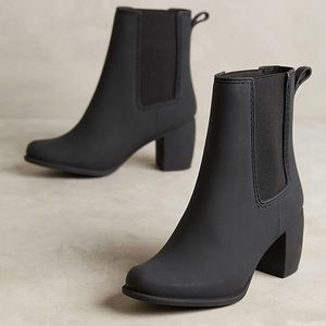 Jeffrey Campbell Clima Ankle Heel Rainboots